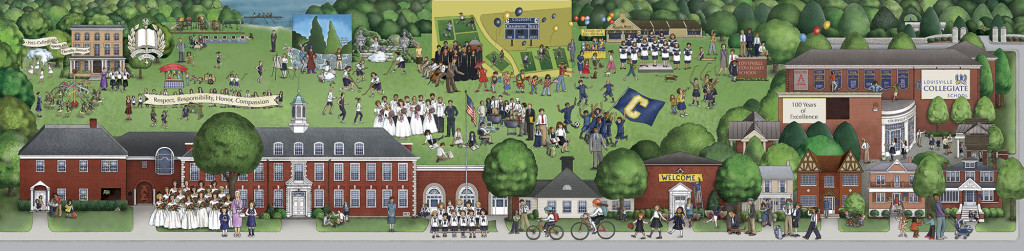 Louisville Collegiate School illustration